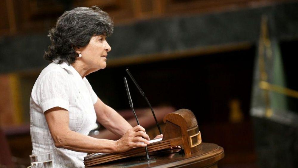 Amparo Botejara, portavoz de Sanidad de Unidos Podemos, quiere despejar los interrogantes del futuro programa sanitario de Montón.