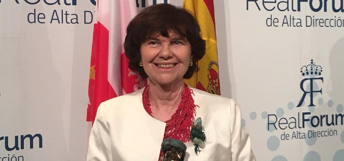 Al acto ha acudido Regina Revilla, directora ejecutiva de Policy, Communication & Corporate Affairs de MSD en España