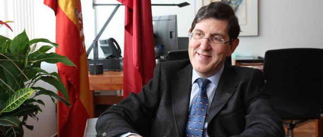 Manuel Villegas, consejero de Sanidad de Murcia (Foto. Región de Murcia)