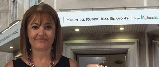 Raquel Neira Zúñiga, gerente del Complejo Hospitalario Ruber Juan Bravo