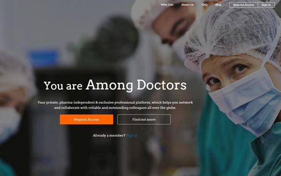 Lanzan en España una nueva red social exclusiva para médicos