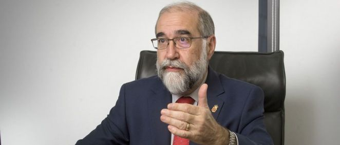 Fernando Domínguez, consejero de Sanidad de Navarra