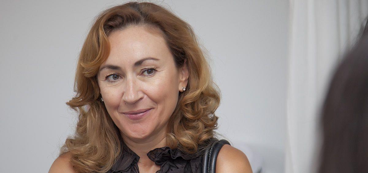 María Martín, consejera de Sanidad de La Rioja