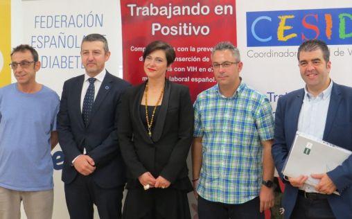 Los pacientes con diabetes, VIH y psoriasis se unen contra la discriminación laboral