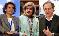 Los exministros sanitarios del PP se preparan para elegir entre Soraya Sáenz de Santamaría y Pablo Casado para el liderazgo de la formación.