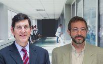 Manuel Villegas y Asensio López, consejero de Salud de la Región de Murcia y gerente del Servicio Murciano de Salud