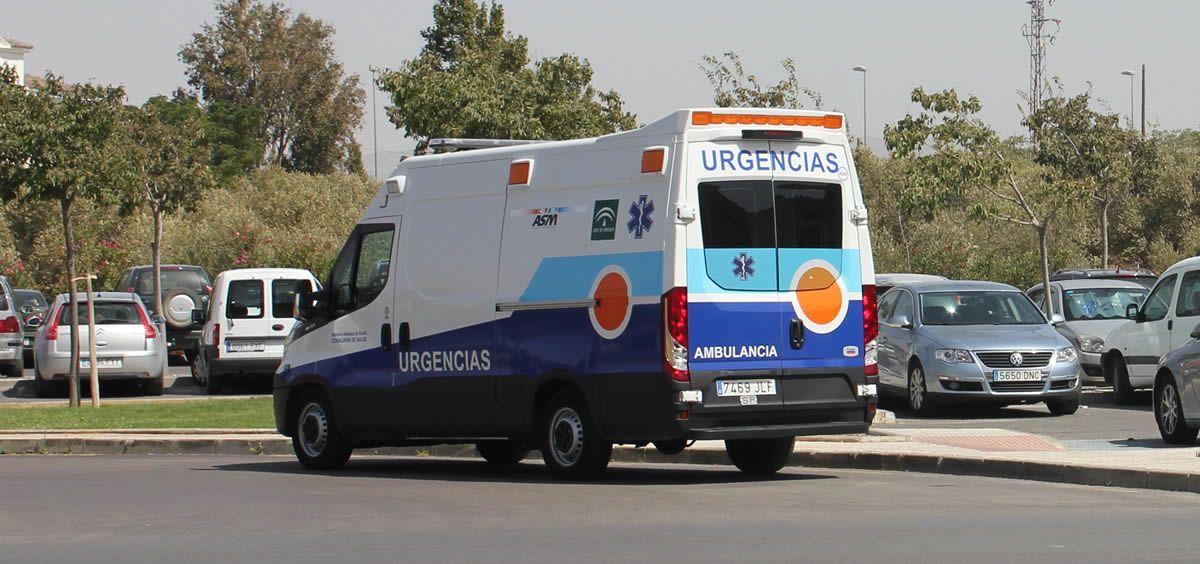 Ambulancia en Málaga