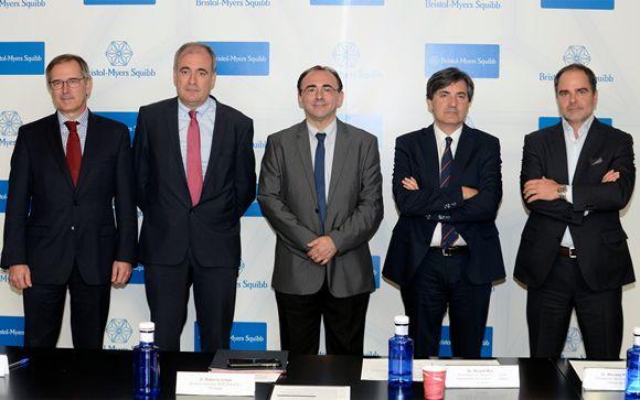 De izq. a drcha.: Salvador Martín-Algarra, Ricard Mesia, José Ángel Arranz, Mariano Provencio y Roberto Úrbez