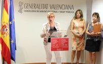 Ana Barceló, consejera de Sanidad Universal y Salud Pública de la Generalitat Valenciana