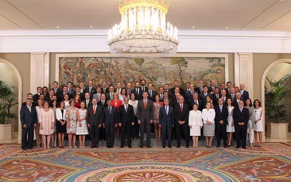 © Casa de S.M. el Rey. Su Majestad el Rey junto a la Asamblea General de Colegios Oficiales de Farmacéuticos de España