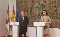 Montón se reúne con Page para recuperar el Fondo de Cohesión y de Garantía Asistencial