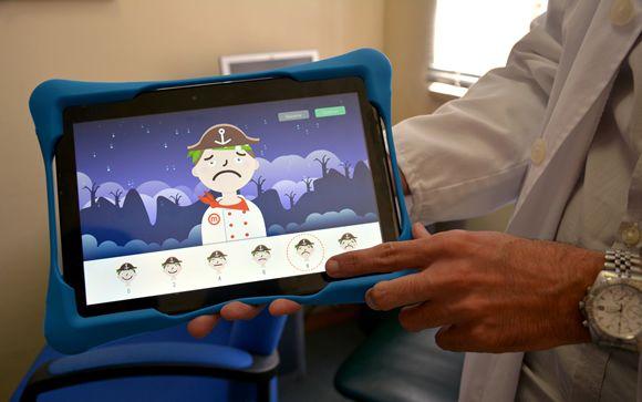 El Hospital Niño Jesús desarrolla una aplicación para medir el dolor de los niños