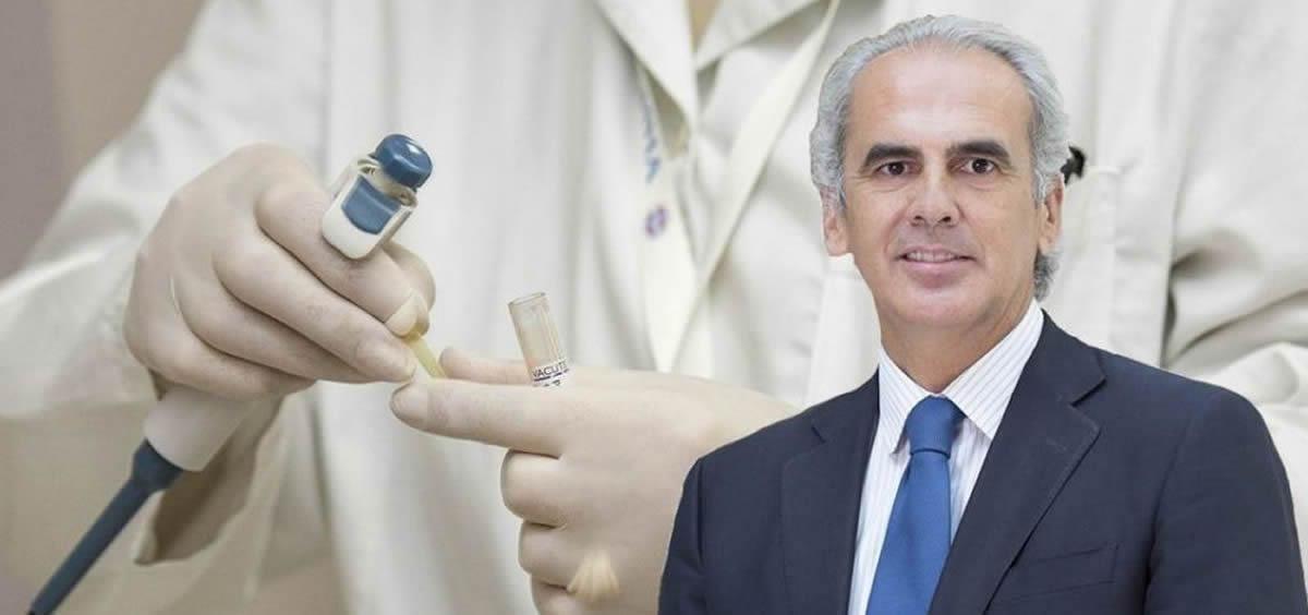 Enrique Ruiz Escudero es el consejero de Sanidad de la Comunidad de Madrid