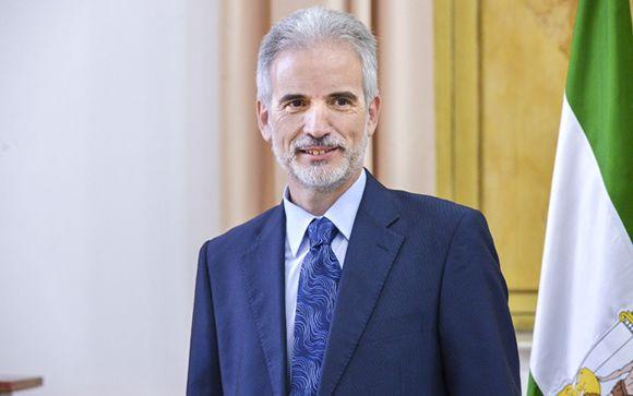 Aquilino Alonso, consejero de Salud de Andalucía
