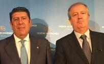 El director general de IDIS, Manuel Vilches y el presidente, Luis Mayero. La Fundación IDIS ha realizado este estudio sobre sanidad privada.