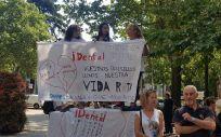 Una manifestación de los afectados por iDental