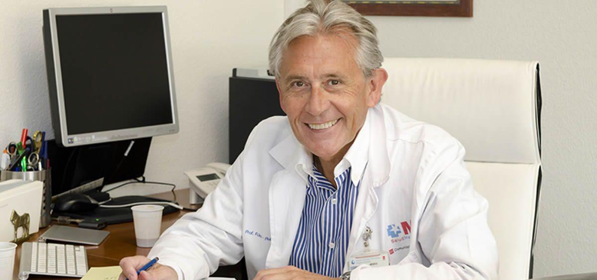 Doctor Francisco Fernández Avilés, jefe de la Unidad de Cardiología del Gregorio Marañón. (Foto. Marañón)