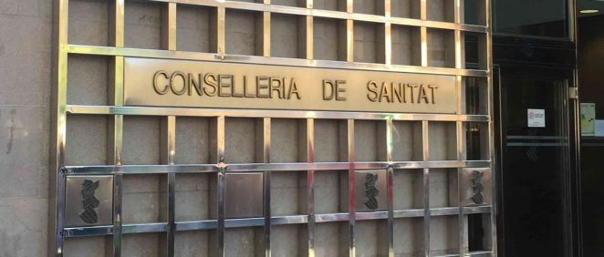 Fachada de la Consejería de Sanidad Universal y Salud Pública de la Generalitat Valenciana
