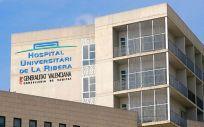 El Hospital Universitario de La Ribera.