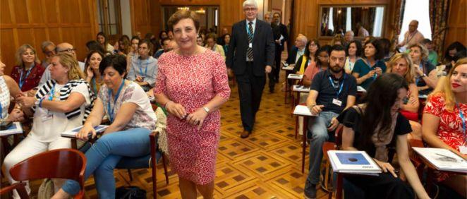 María Luisa Real, consejera de Sanidad de Cantabria  (Foto: Miguel de la Parra)