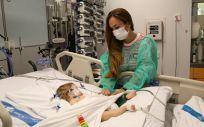 Roma, una de las dos niñas trasplantadas