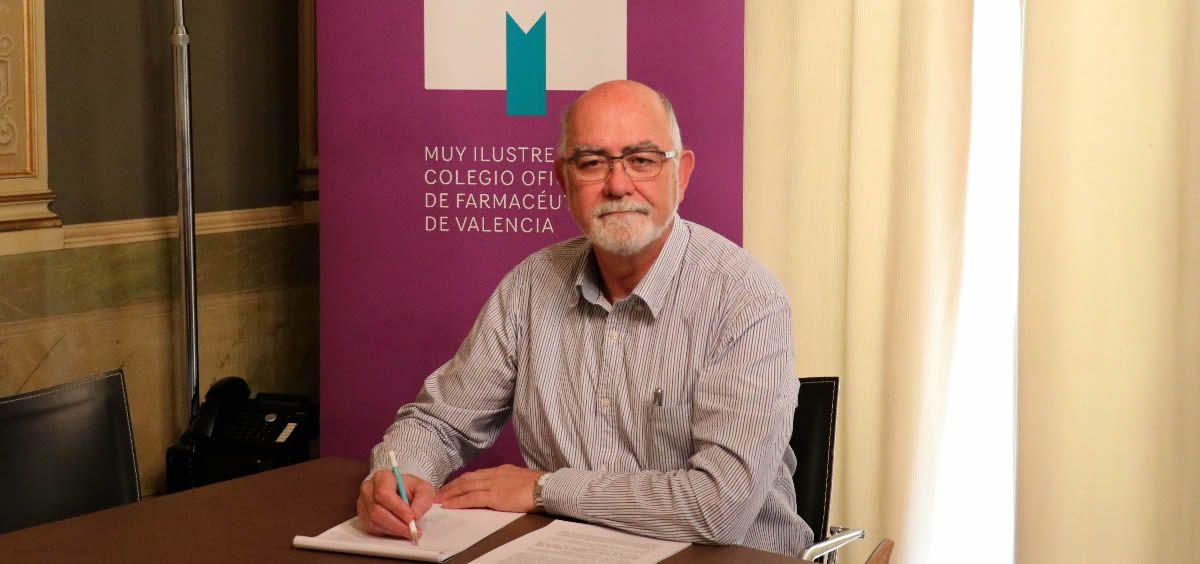 Jaime Giner, presidente del Colegio Oficial de Farmacéuticos de Valencia