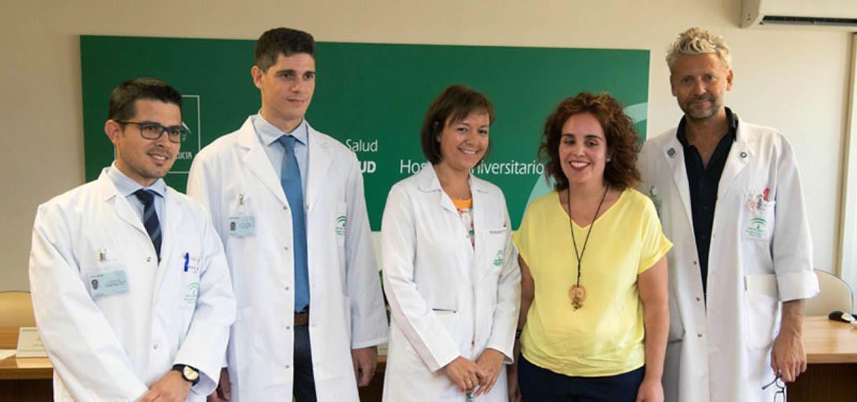 Miembros del Hospital Universitario Reina Sofía