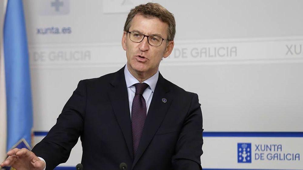 Alberto Núñez Feijóo, presidente de Galicia.
