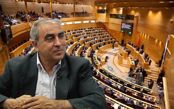 José Martínez Olmos, portavoz de Sanidad del PSOE en el Senado.
