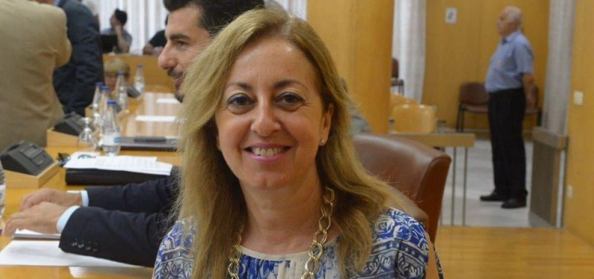 Adela Nieto, consejera de Sanidad de Ceuta.