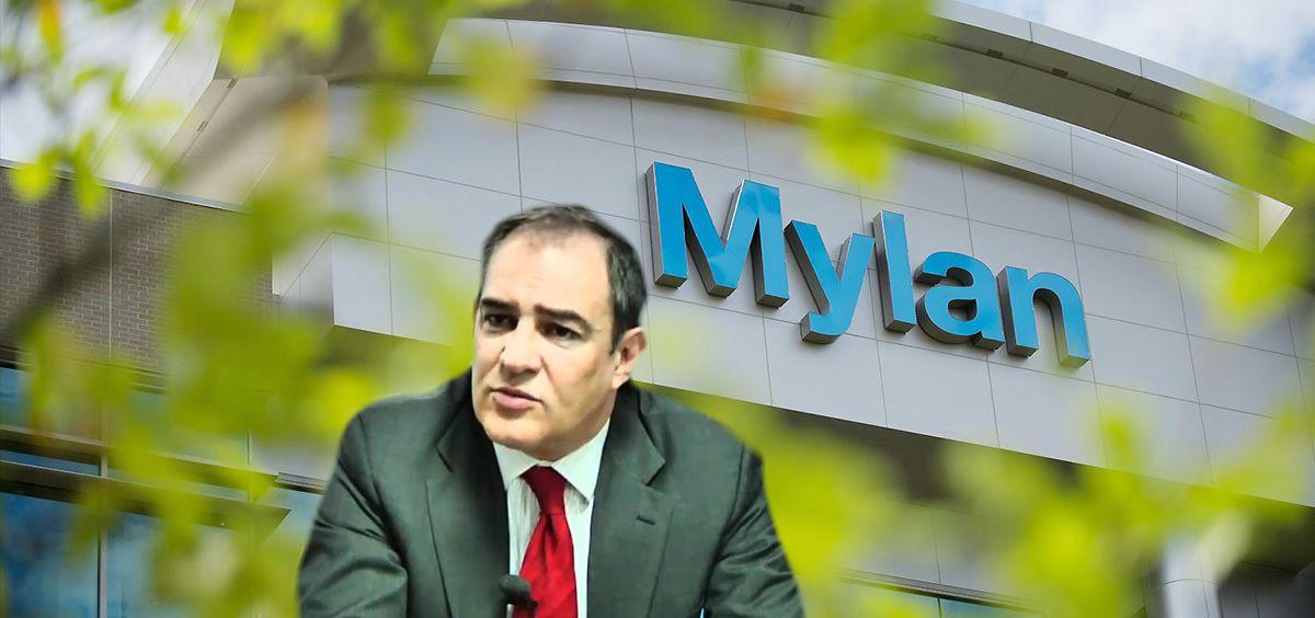 José Longán, director general de Mylan en España.