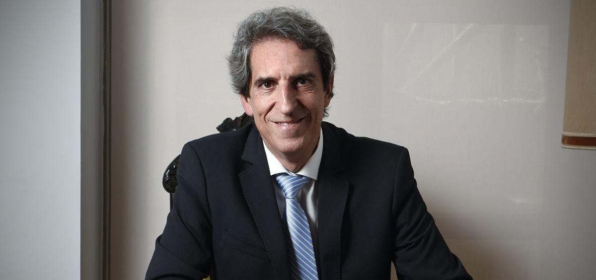 El doctor Miguel Ángel Sánchez Chillón, presidente del Ilustre Colegio Oficial de Médicos de Madrid