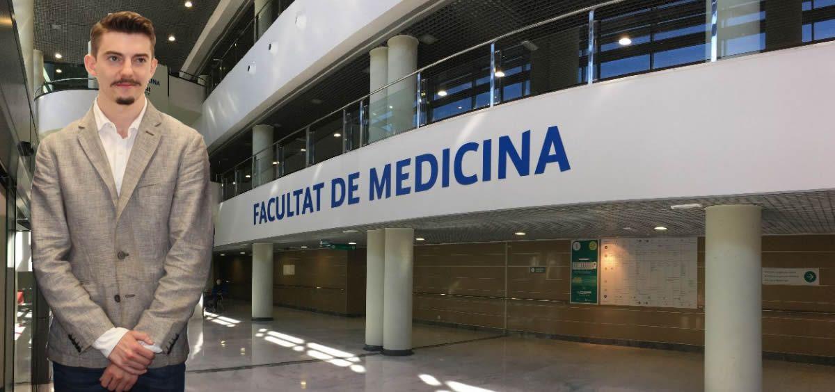 Alejandro Iñarra, presidente del Consejo Estatal de Estudiantes de Medicina (CEEM)