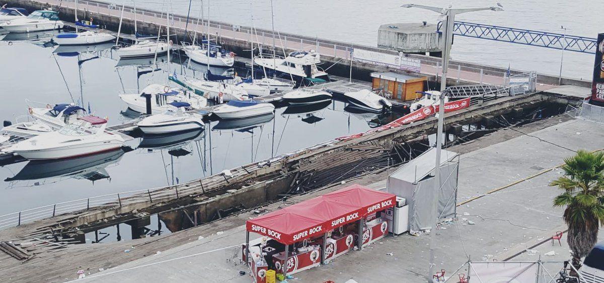 Sanidad informó ayer de que permanecen ingresadas seis personas tras el accidente en el Marisquiño y que se atendieron 456 personas