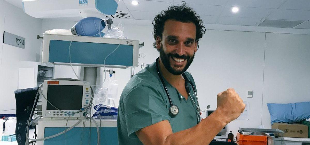 El médico y activista granadino Jesús Candel, más conocido como Spiriman.