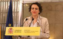 Magdalena Valerio, ministra de Trabajo, Migraciones y Seguridad Social.