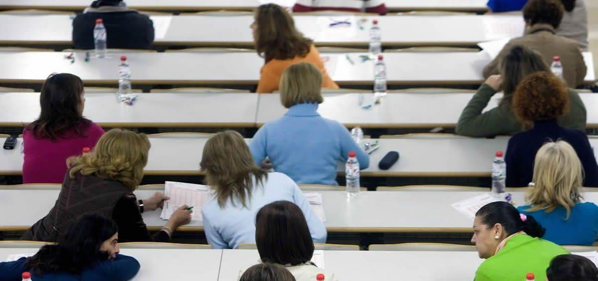 Un total de 55.100 personas están convocadas para realizar los días 16 y 30 de septiembre los exámenes para optar a 1.050 plazas