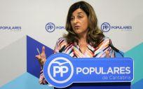 María José Sáenz de Buruaga, presidenta del PP de Cantabria.