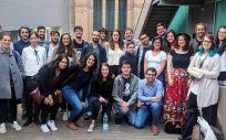 Residentes de Medicina Preventiva y Salud Pública durante la reunión que Ares celebró el pasado mes de mayo en Barcelona