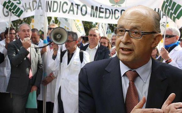 Los médicos, indignados con Montoro por tener que tributar la asistencia a congresos