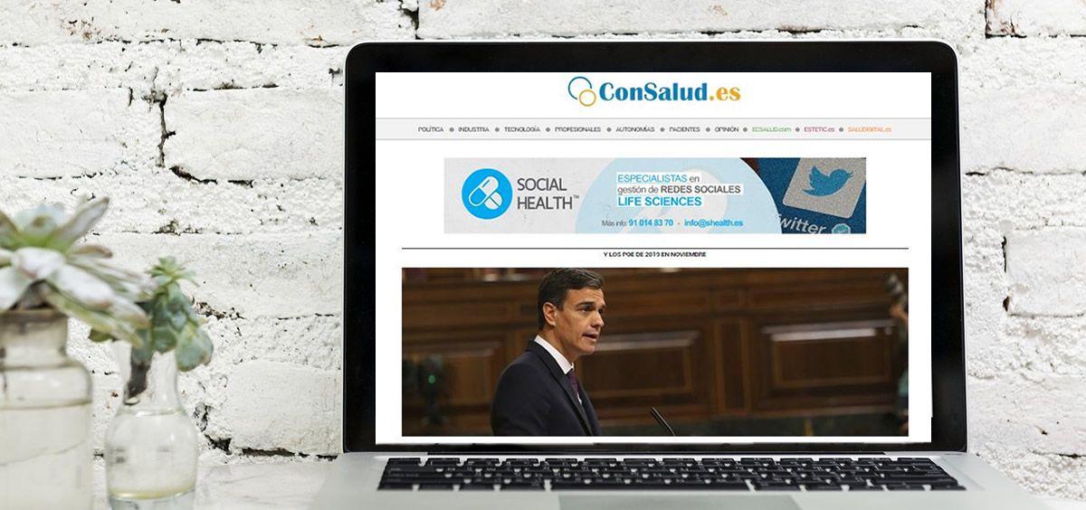ConSalud.es, líder en el sector Salud. (Foto. ConSalud.es)
