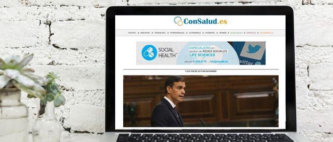 ConSalud.es alcanza las 2,7 millones de visitas en febrero
