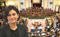 Carmen Montón, ministra de Sanidad, Consumo y Bienestar Social, regresa este jueves al pleno del Congreso.
