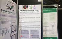 El Consejo General de Colegios Oficiales de Farmacéuticos (Cgcof) ha presentado sus pósteres en el Congreso Mundial de Farmacia que se celebra en Glasgow (Reino Unido)