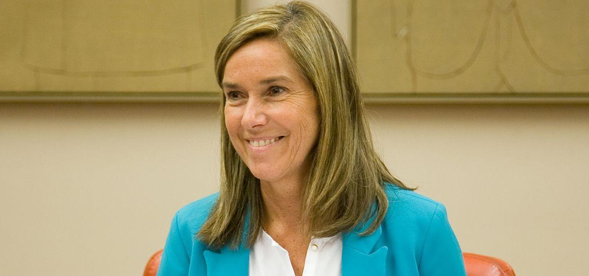 Ana Mato, exministra de Sanidad, durante una intervención en el Congreso.