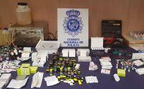 Medicamentos decomisados por la Policía Nacional | Imagen: Ministerio de Interior