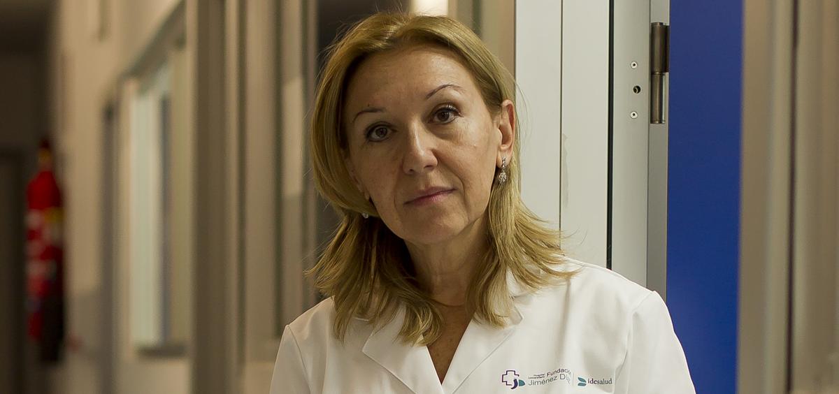 Carmen Ayuso García, directora científica del Instituto de Investigación Sanitaria de la Fundación Jiménez Díaz (IIS-FJD)