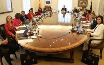 Reunión del Consejo de Ministros en el Palacio de La Moncloa.