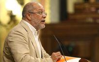 Francisco Igea, portavoz de Sanidad de Ciudadanos interviniendo en el Congreso.
