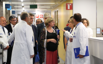 La consejera de Salud, Alba Verges, ha cogido oficialmente su baja por maternidad.